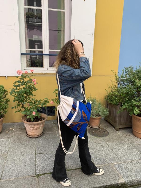 Gym bag bleu 1