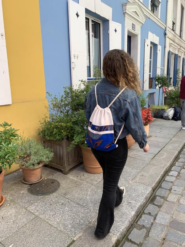 Gym bag bleu 2