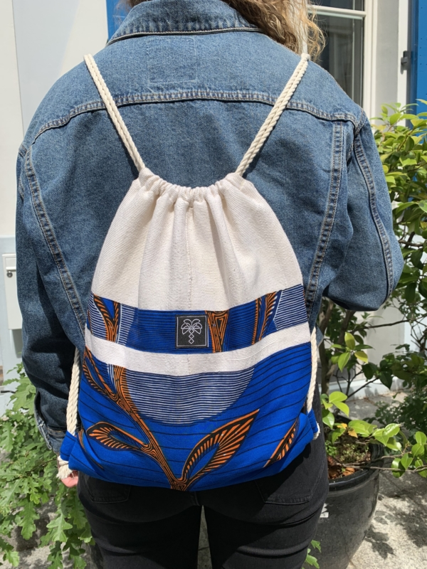 Gym bag bleu 4